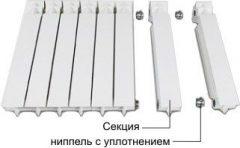 Сборка алюминиевого радиатора