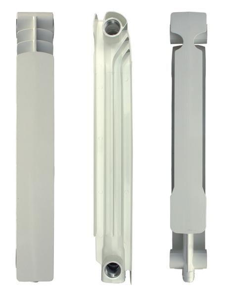 Секция алюминиевого радиатора, изготовленного методом литья